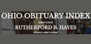 Ohio Obituary Index Rutherford B Hayes library